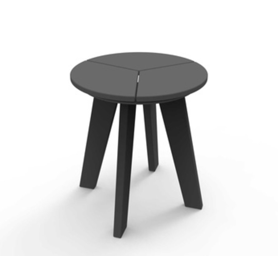DEX ROUND SIDE TABLE - CHARCOAL