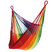 YELLOW LEAF HAMMOCKS RAINBOW HANGING CHAIR