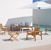 CANE-LINE AMAZE LOUNGE CHAIR IN TEAK