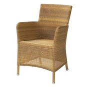 CANE-LINE HAMPSTED ARM CHAIR IN NATURAL CANE-LINE FIBRE