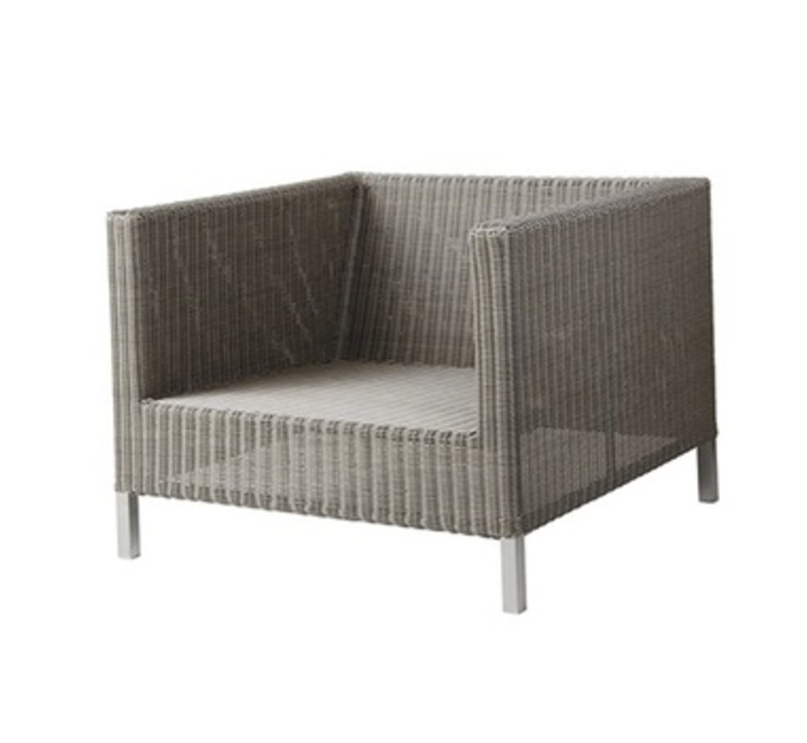CONNECT LOUNGE CHAIR IN TAUPE