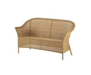 LANSING 2-SEATER SOFA IN NATURAL, CANE-LINE FIBRE