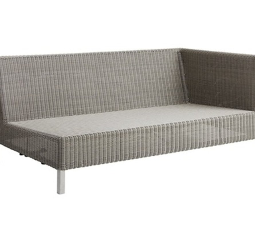 CONNECT 2-SEATER SOFA LEFT MODULE IN TAUPE