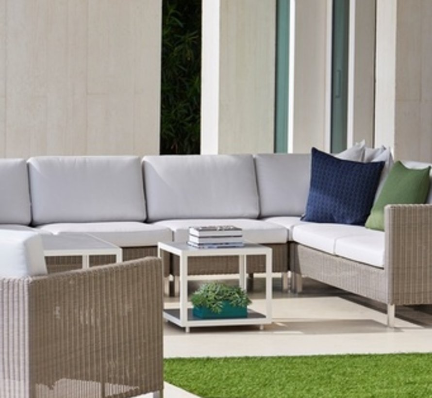 CONNECT CORNER SOFA MODULE IN TAUPE