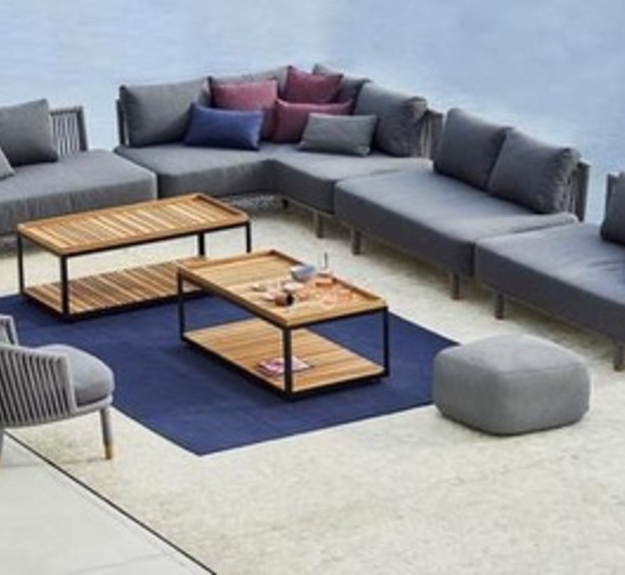MOMENTS 2-SEATER SOFA MODULE WITH CUSHIONS