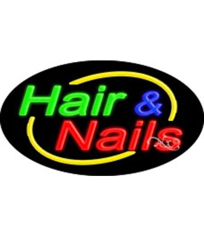 ART  SIGNS NEON SIGNS #NS14005 Hair Nails