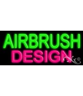 ART  SIGNS NEON SIGNS #NS12002 Airbrush Design