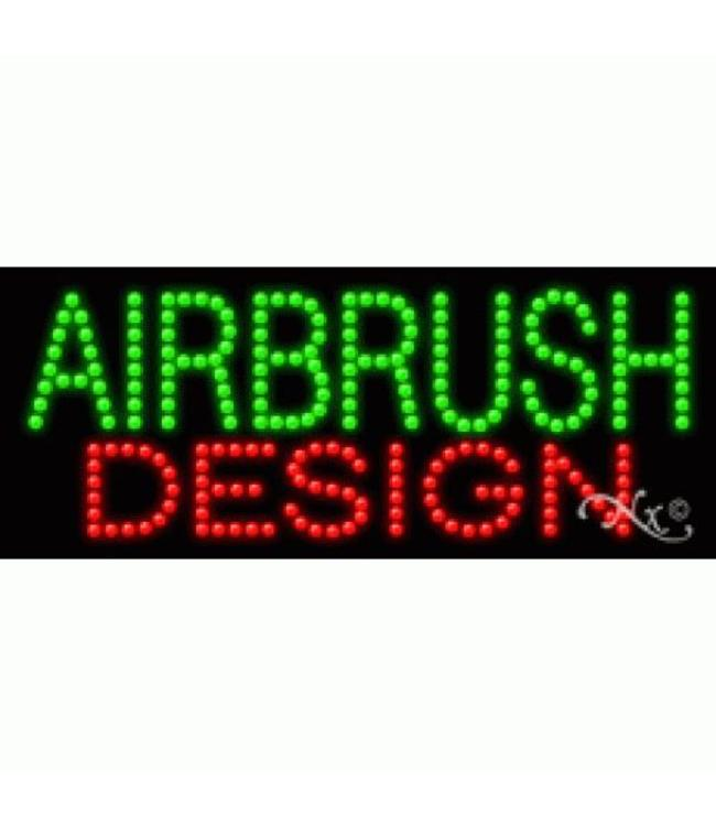 ART  SIGNS LED SIGNS #LD20006 AIRBRUSH DESIGN