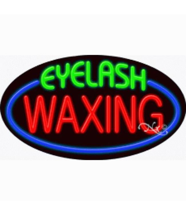ART  SIGNS NEON SIGNS #NS14586 Eyelash Waxing