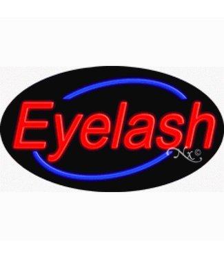 ART  SIGNS NEON SIGNS #NS14341 Eyelash