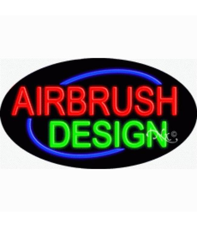 ART  SIGNS NEON SIGNS #NS14136 Airbrush Design
