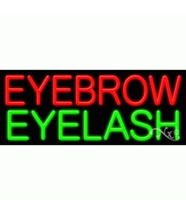 ART  SIGNS NEON SIGNS #NS11397  Eyebrow Eyelash