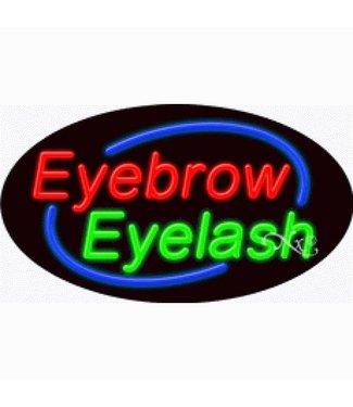 ART  SIGNS NEON SIGNS #NS1462  Eyebrow Eyelash