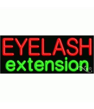 ART  SIGNS NEON SIGNS #NS11043 Eyelash Extension