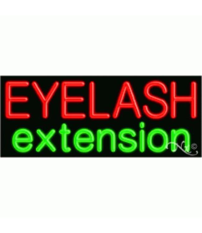 ART  SIGNS NEON SIGNS #NS11043 Eyelash Extension