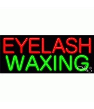 ART  SIGNS NEON SIGNS #NS11190 Eyelash Waxing