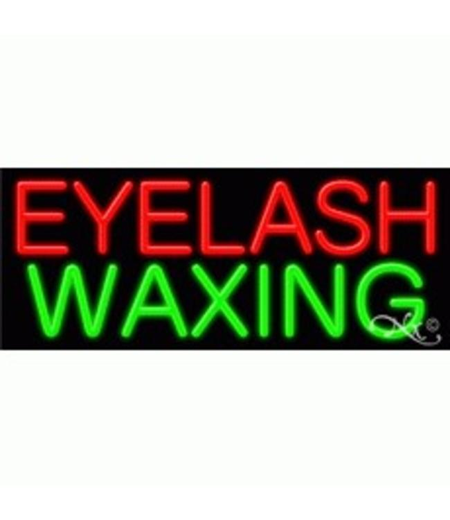 ART  SIGNS NEON SIGNS #NS11190 Eyelash Waxing