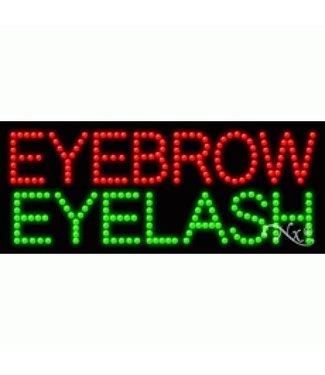ART  SIGNS LED SIGNS # LD21397 Eyebrow Eyelash