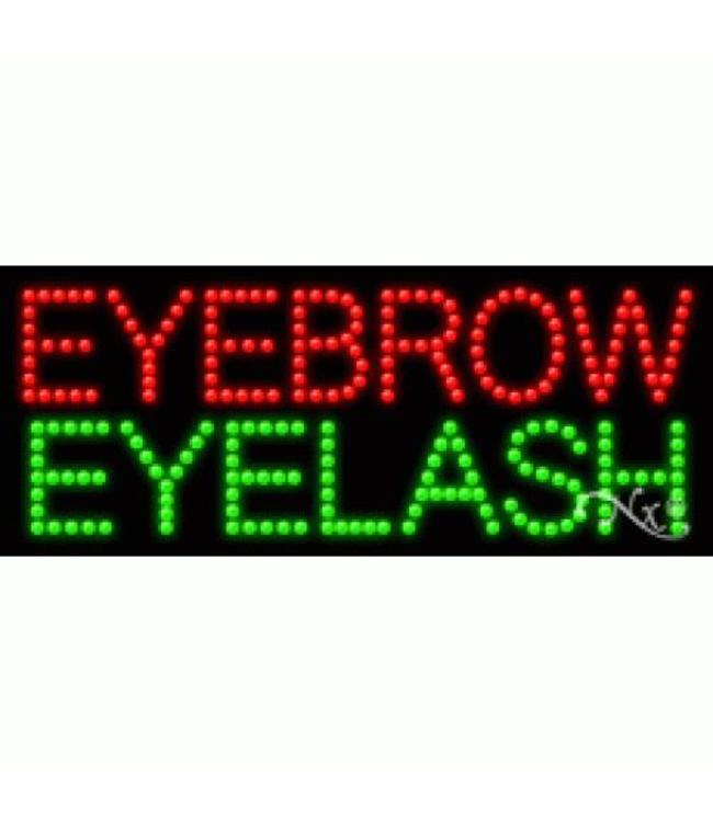 ART  SIGNS LED SIGNS # LD21397 Eyebrow Eyelash