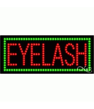 ART  SIGNS LED SIGNS #LD21042 Eyelash
