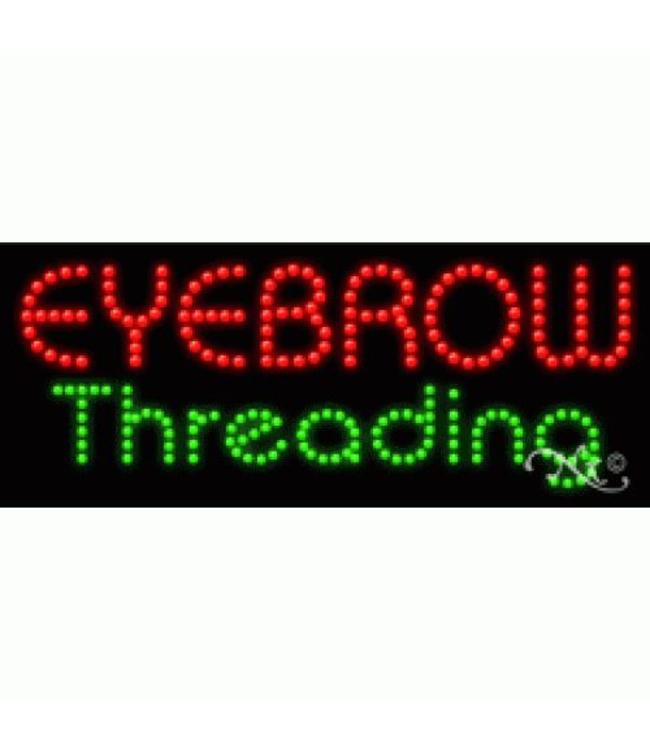 ART  SIGNS LED SIGNS #LD21189 EYEBROW THREADING