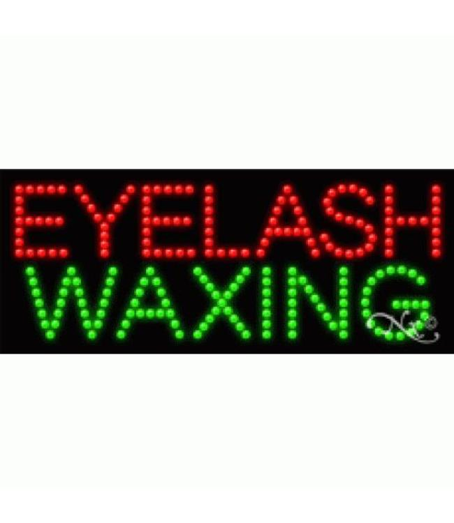 ART  SIGNS LED SIGNS #LD21190 Eyelash Waxing