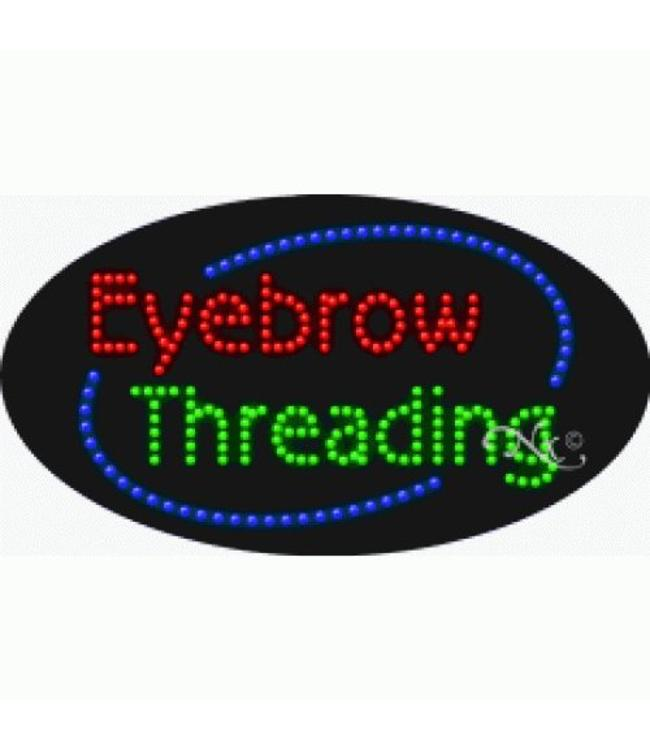 ART  SIGNS LED SIGNS #LD24585 Eyebrow Threading