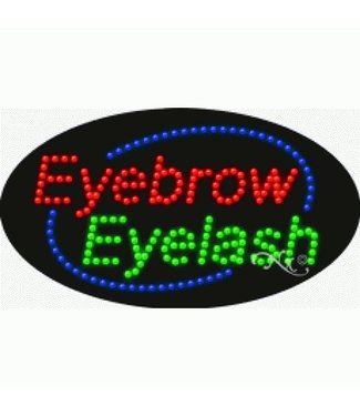 ART  SIGNS LED SIGNS #LD24622 Eyebrow Eyelash