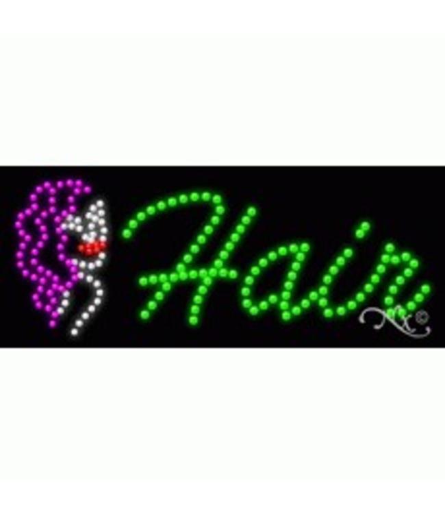 ART  SIGNS LED SIGNS # LD21419 Hair