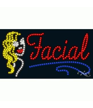 ART  SIGNS LED SIGNS # LD21699 Facial