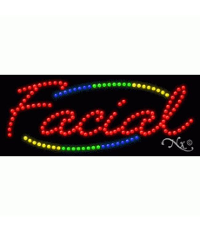 ART  SIGNS LED SIGNS #LD20793 Facial