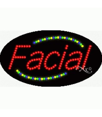 ART  SIGNS LED SIGNS #LD24001 Facial