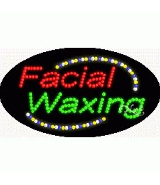 ART  SIGNS LED SIGNS #LD24002 Facial Waxing