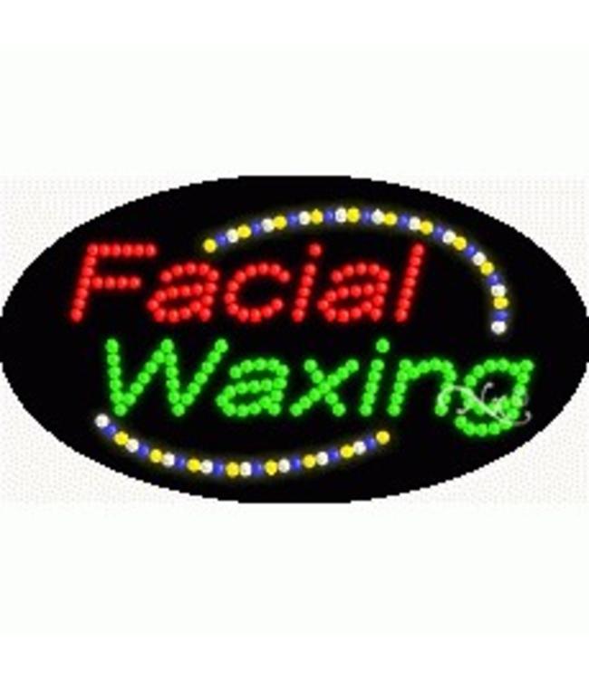 ART  SIGNS LED SIGNS #LD24002 Facial Waxing