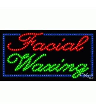 ART  SIGNS LED SIGNS #LD20331 Facial Waxing