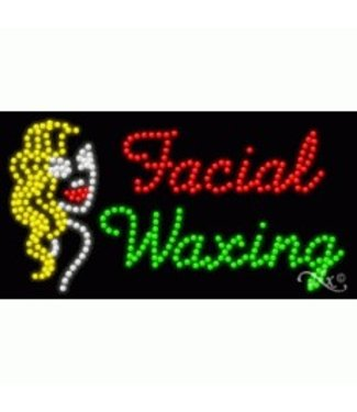 ART  SIGNS LED SIGNS #LD21700 Facial Waxing