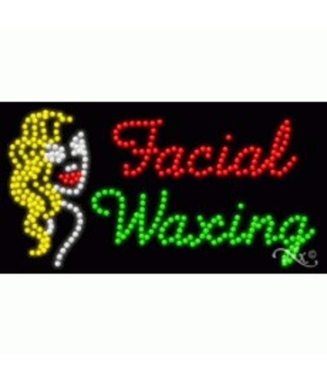 ART  SIGNS LED SIGNS #LD21700 Facial Waxing