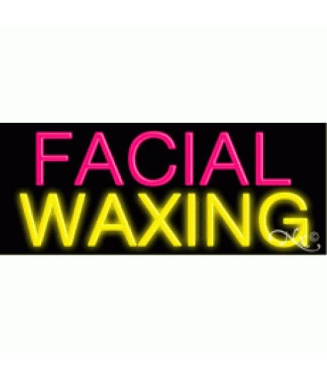 ART  SIGNS NEON SIGNS #NS10165 Facial Waxing