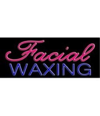 ART  SIGNS NEON SIGNS #NS10350 Facial- Waxing