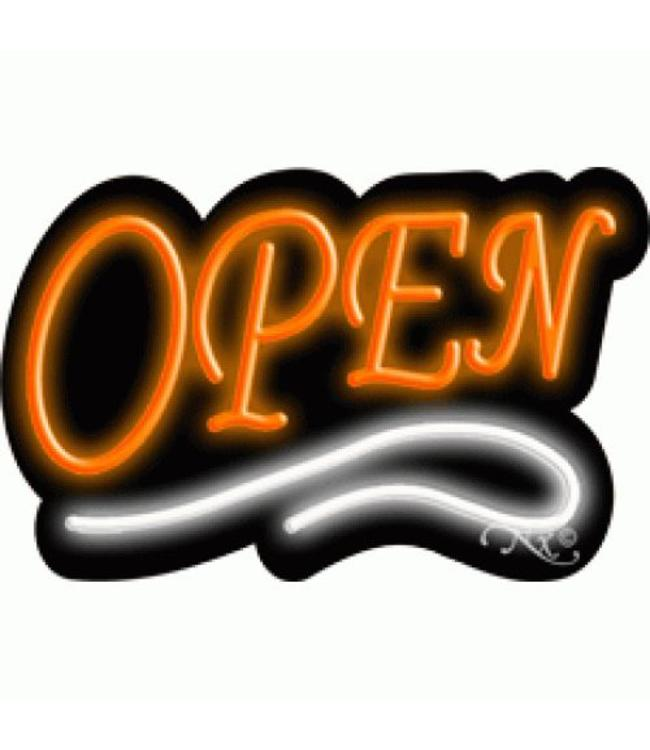 ART  SIGNS NEON SIGNS #NS10002 - OW Open (Orange/White)