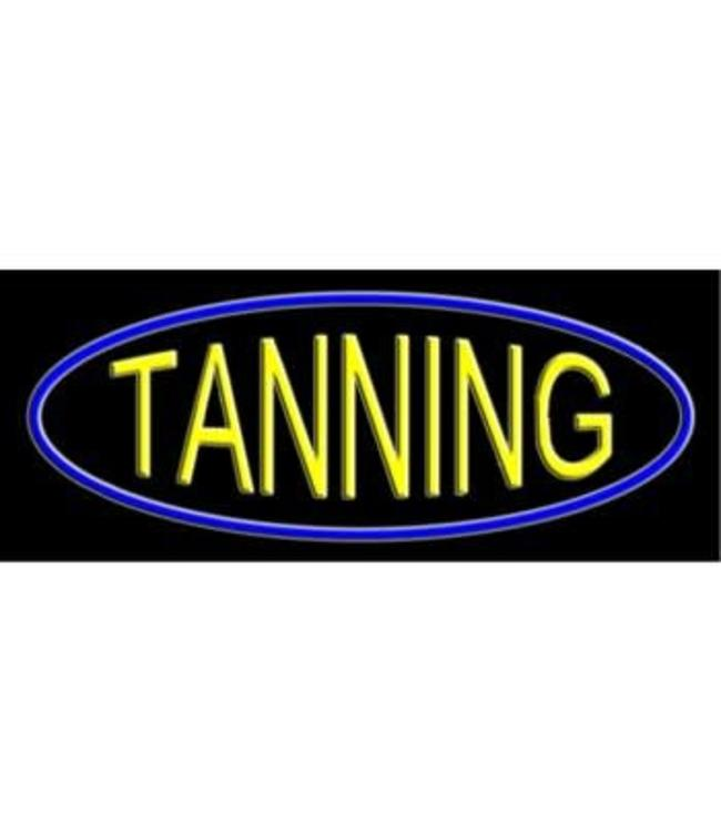 ART  SIGNS NEON SIGNS #NS10637 Tanning