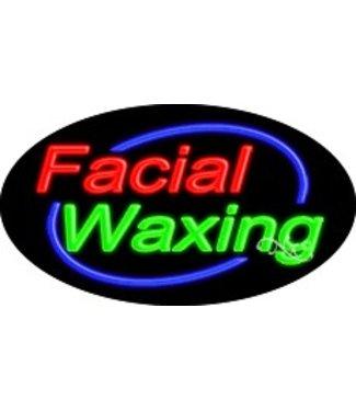 ART  SIGNS NEON SIGNS #NS14002 Facial Waxing