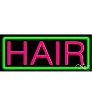 ART  SIGNS NEON SIGNS #NS10070 Hair
