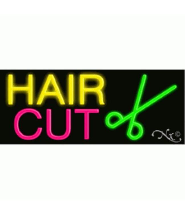 ART  SIGNS NEON SIGNS #NS10072 Hair Cut