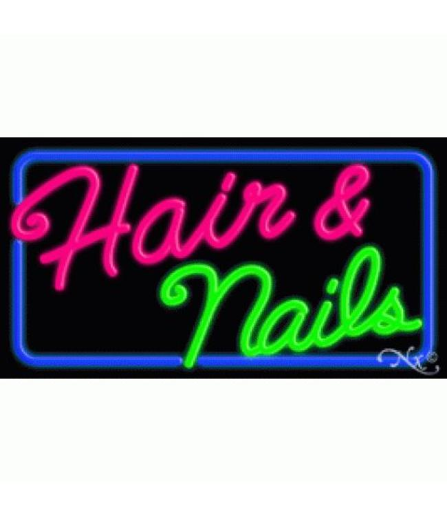 ART  SIGNS NEON SIGNS #NS10349 Hair & Nail