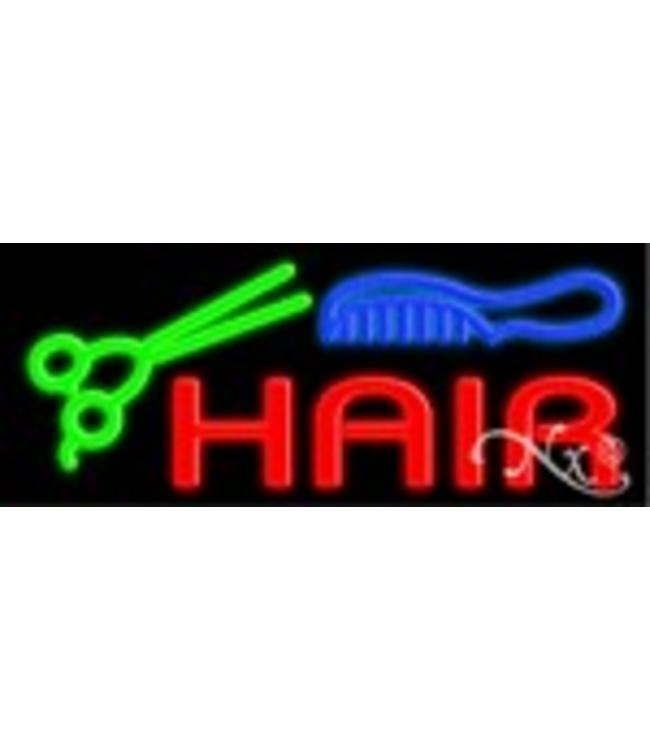 ART  SIGNS NEON SIGNS #NS10389 Hair & Logo
