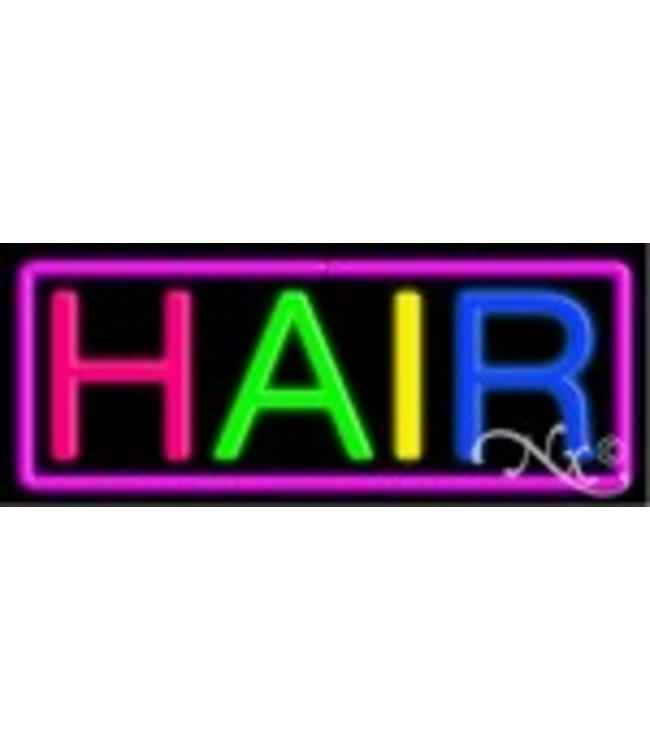 ART  SIGNS NEON SIGNS #NS10432 Hair