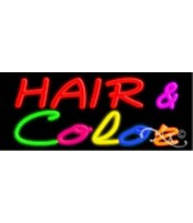 ART  SIGNS NEON SIGNS #NS10557 Hair & Color