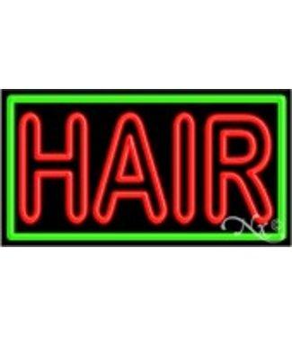 ART  SIGNS NEON SIGNS #NS11080 Hair