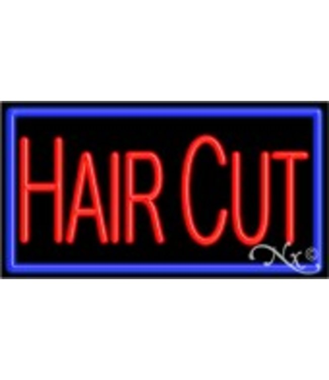 ART  SIGNS NEON SIGNS #NS11081 Hair Cut